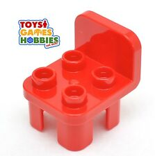 *NEW* LEGO DUPLO Red Chair Piece House Kitchen Furniture Farm Table Figure Seat