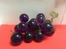 large glass grapes
