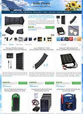 Solar Panels Store - Amazon, eBay , Commission Junction Affiliate Website