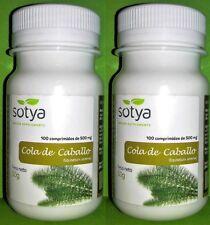 Cola de caballo 500 mg. 2x100 comprimidos SOTYA