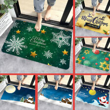 Christmas decoration floor mats  non-slip household door mats cartoon