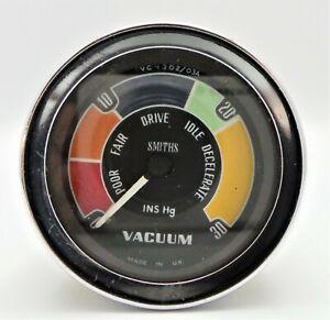 SMITHS CLASSIC CAR 52 MM VACUUM GAUGE -