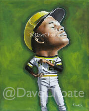 Roberto Clemente, Pittsburgh Pirates Original Painting - Acrylic on Canvas