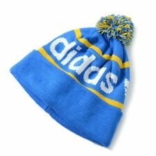 NEW Adidas Originals Mercer Ballie Pom Beanie Winter Cap Hat Blue Yellow Q45351