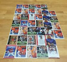 JOHN ELWAY LOT OF 39 FOOTBALL CARDS DENVER BRONCOS QUARTERBACK STANFORD NFL HOF