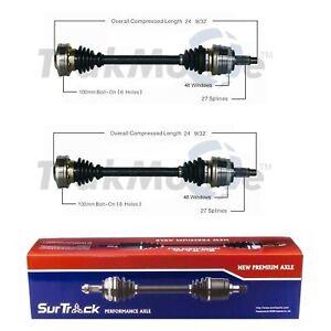 SurTrack Pair Set of 2 Rear CV Axle Shafts For BMW E36 323Ci 325i 328i 330Ci Z3
