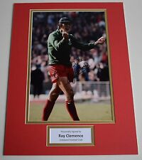 Ray Clemence SIGNED autograph 16x12 photo display Liverpool Football & COA