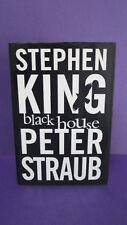 Black House by Stephen King & Peter Straub - 1st U.K.Edition HCDJ 2001