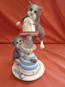 BFA Border Fine Arts Comic & Curious Cats A5963 All Washed Up A/F