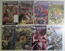 Transformers Armada Lot of 8 #6,7,8,9,10,11,12,FCBD 1 Dreamwave 2002 Comic Books