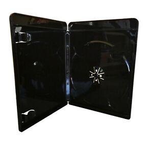 70 Stück Blu Ray Hüllen schwarz 11mm