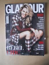GLAMOUR #294 2016 Karolina Kurkova Rebel Chic Moda New Folk Art Style [P29]