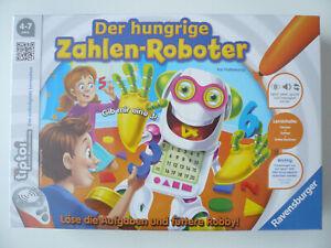 Spielzeug TipToi Tiptoi-Spiel Der hungrige Zahlen-Roboter Lernspiel Ravensburger