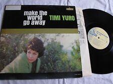 Mint original mono Timi Yuro Make the World Go Away promo label