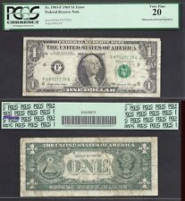 $1 1969 FRN=MISMATCH SERIAL=68/67=ERROR=PCGS VERY FINE 20