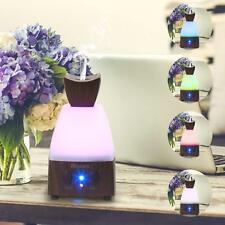 Mini Ultrasonic Humidifier Air Purifier LED Essential Oil Diffuser 7 Color Led