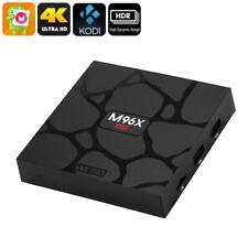 New Smart TV Box M96X Mini 4K 1GB RAM HDR WiFi Kodi 17.3 S905X HDMI Android 6.0