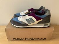 New Balance 577 - M577GBP - UK 9.5 - US 10 - White - Blue - Purple - New in Box