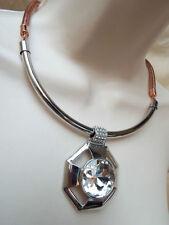 Copper Crystal Statement Costume Necklaces & Pendants