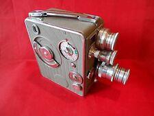 Nizo Heliomatic Filmkamera 1951 Jahr Ledertasche