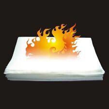 David Blaine Flash Paper X2 Each Win Medium size Sheets Ages 18+ Fire MagicTrick