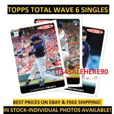 2019 Topps Total Wave 6 Singles ONLY 372 MADE - PHOTOS UPDATED & PRICES DROPPED