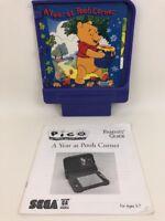 Pico Sega Game Cartridge A Year at Pooh Corner w Parent Guide Vintage 90s