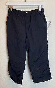 NWT ZOIC Women's Lagunitas Knickers Size Small $90 Black Ripstop Capri Padded