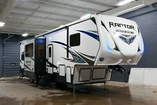 2018 Keystone Raptor Predator 3513 Toyhauler 5th wheel RV Toy Hauler 13 Garage