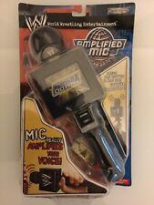 Wwe / Wwf Mega Rare Jakks Pacific Amplified Microphone ( New ) Must See!!
