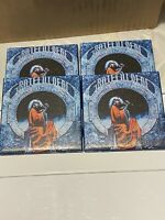 4 Grateful Dead Ceramic Table Coasters. Handmade Blues For Allah