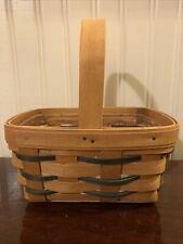 Longaberger 1996 Heartland Mini Chore Basket W Divided Protector