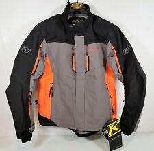 Klim Valdez Mens Snowmobile Parka Orange Size XL Extra Large 3570-007-150-400