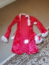 BNWOT Classified Sexy Santa Robe & Hat Outfit Size Small
