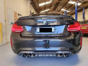 Carbon Fiber Performance Style Rear Diffuser For BMW F87 M2 & Competition (16-20