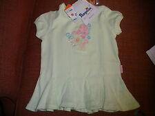 NEW Pampolina girls green short sleeve shirt 12 month retails $30