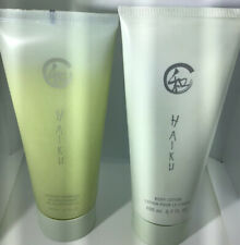 AVON 1 Haiku Pearlized Shower Gel And 1 Haiku Body Lotion New Sealed Lot