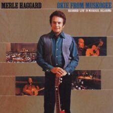 Merle Haggard - Okie from Muskogee (Live) 20 TRACKS CD NEU