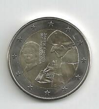 2 Euro Gedenkmünze 2011 aus Niederlande, Erasmus von Rotterdam, bankfrisch, bfr