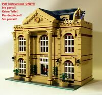 Wax Museum LEGO, Building Instruction ONLY!! 10182 10185 10190 10197 10211 10218