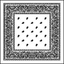 Bufanda de mujer de color principal blanco