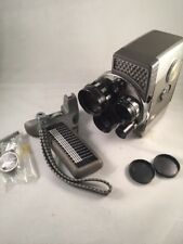Yashica 8-E III Super-8 Camera 3 Lens TESTED GREAT condition with bag  #628