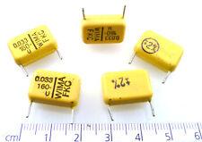 ecc da 5 Z465 Condensatore ASSIALE IN POLICARBONATO 10N 63v alta specfor audio CONF