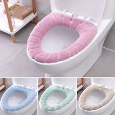 NEW Soft Bathroom Toilet Seat Closestool Washable Warmer Mat Cover Pad Cushion