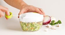 Quick Chop - Food Chopper - Pull Cord - Chops, Slices, Mixes, & Whips in Seconds