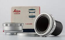 Leitz Leica Visoflex Elmar 3,6/65mm 11062N mit Schnecke 16464K  SHP 61077