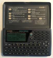 Casio Sf-4985Er + bu-w Executive Boss Organizer Digital Diary 256kb Pc Sync
