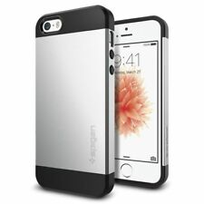 Spigen iPhone 5 / 5s / SE Slim Armor Dual Layer Satin Silver Case (041CS20249)