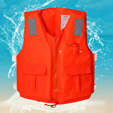 Adult Kayak Life Jacket Sport Water Inflatable Life Foam Vest  Buoyancy Swimming