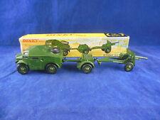 Dinky toys 697 25 Pounder Field Gun Set Dinky nos. 686 687 & 688